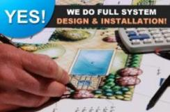 Yes! We do full system design & installation
